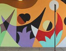 Addison Avondale Mural