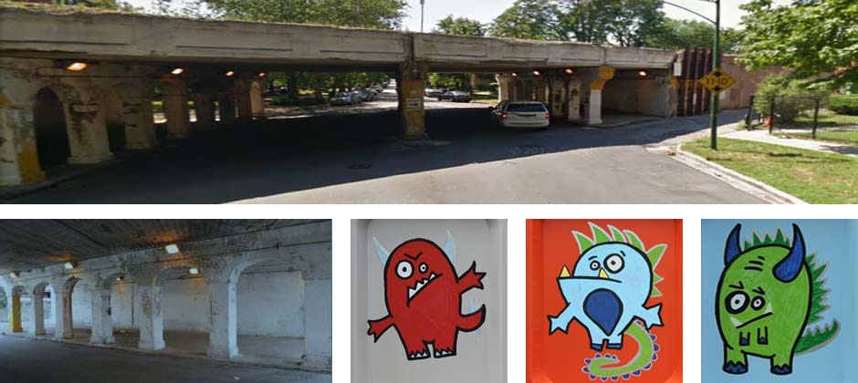 Monster Zoo Mural Thumbnail