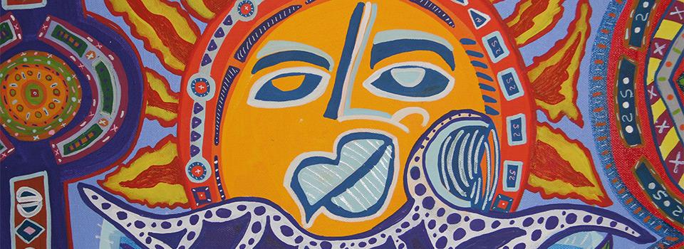 Tony Passero Painting Sol Soul