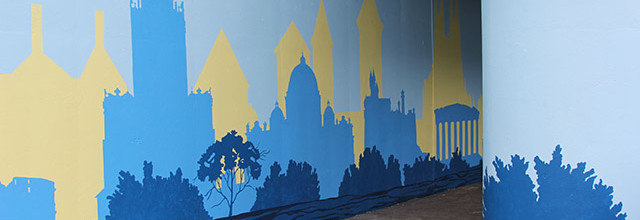 Positive Babel Mural Day 10