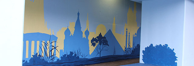 Positive Babel Mural Day 11