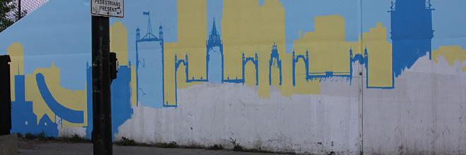 Positive Babel Mural Day 2