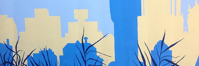Positive Babel Mural Day 5