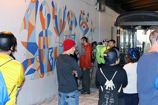 Tony Sparrow Manifest Mural Bike 45 Panel 8