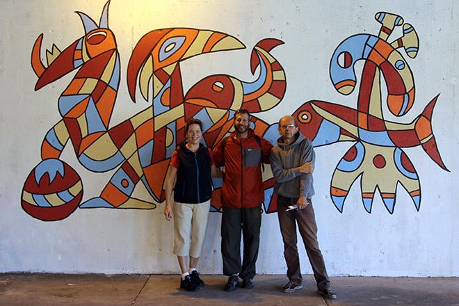 Tony Sparrow Manifest Mural Alderman Arena