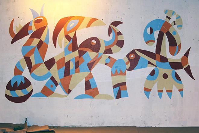 Tony Sparrow Manifest Mural Panel 4