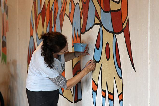 Tony Sparrow Manifest Mural Panel 6