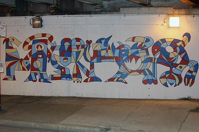 Tony Sparrow Manifest Mural Panel 1