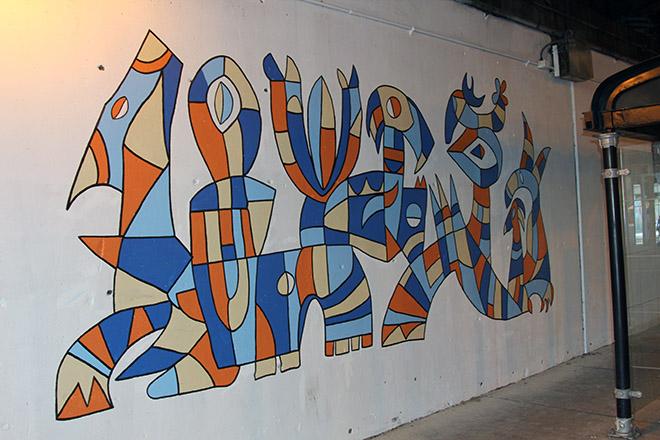 Tony Sparrow Manifest Mural Panel 8