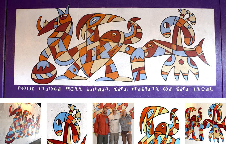 Pledge Panel 6 of the M(ani)Fest Mural © 2014 Tony Passero