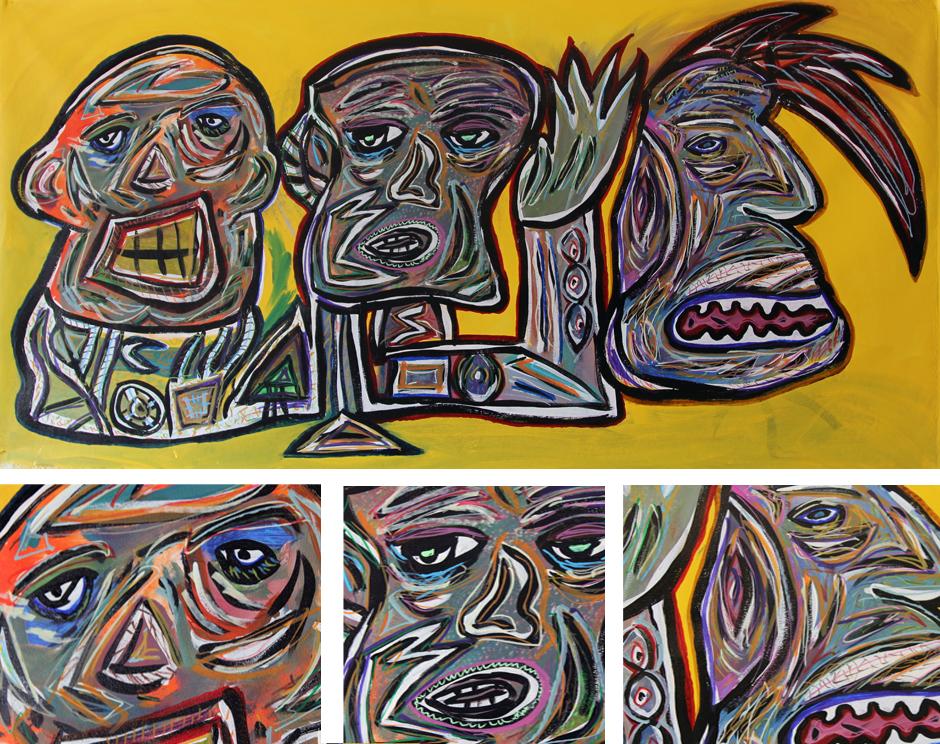 Tony Passero Painting Swizzlee Detail