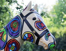 Horses of Honor Stained Glass Horse