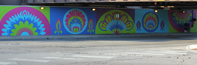 CrossCuts Mural Day 6