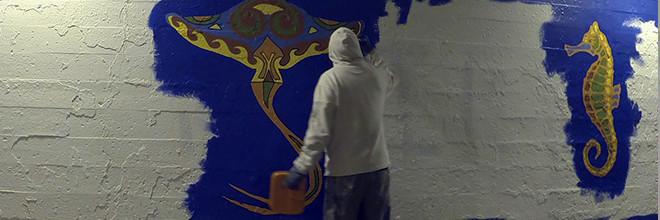 Coloribbean Mural Day 5