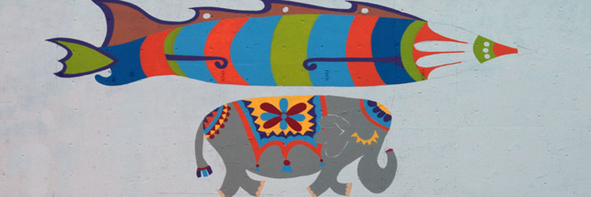Jumbo Jet Mural Day 1