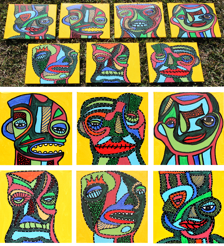 Tony Passero Painting Phaces Series 1 Detail