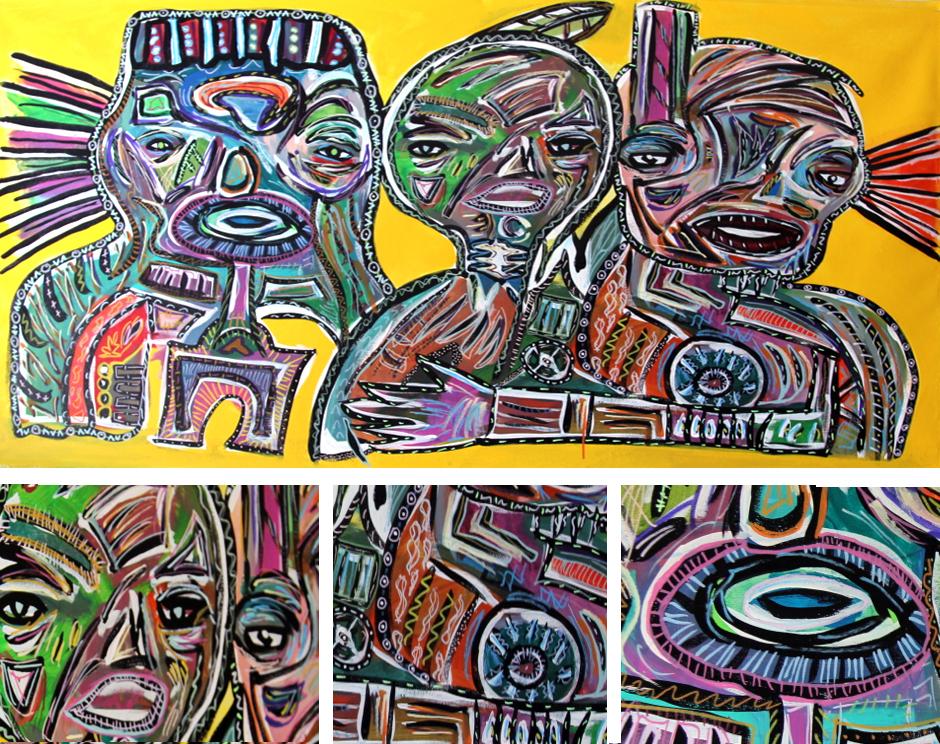 Tony Passero Painting Meld Detail