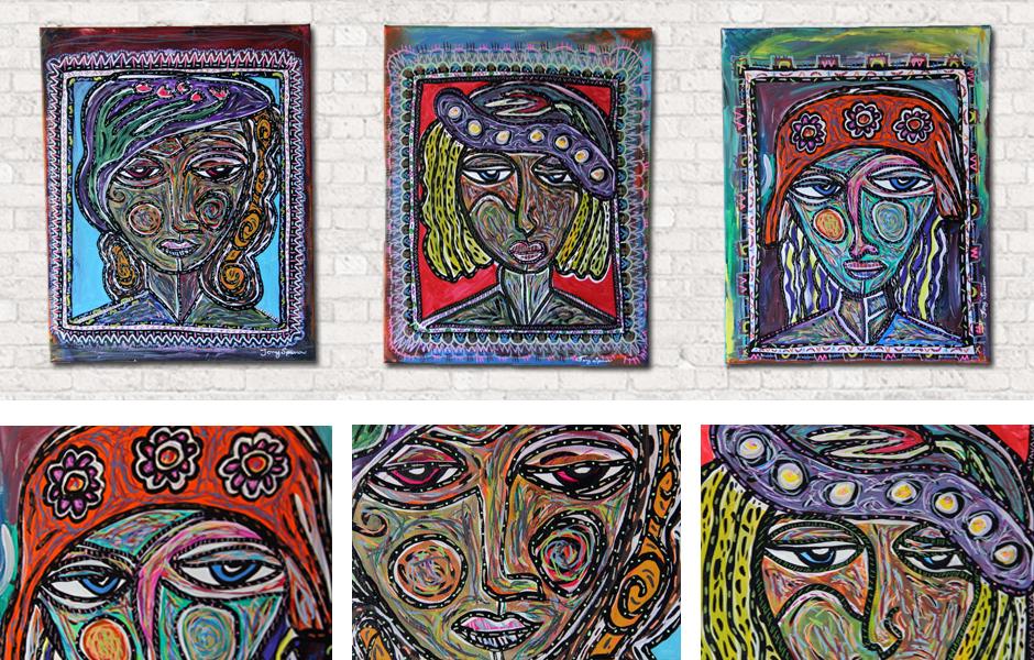 Tony Passero Painting Phaces Series 2 Detail