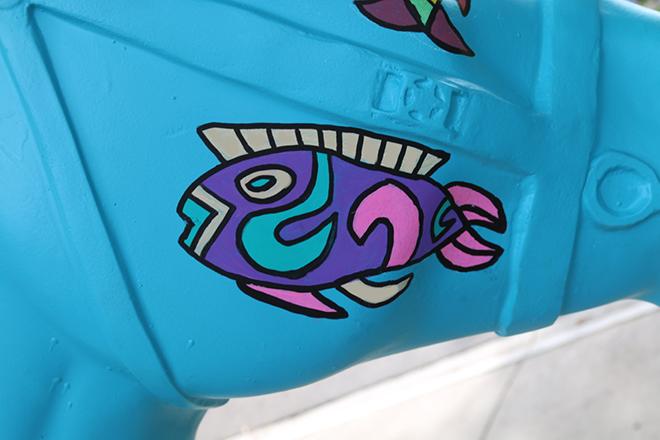 Tony Passero Horses of Honor Sea Horse Fish 3 Detail