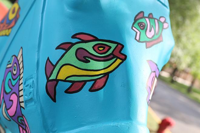 Tony Passero Horses of Honor Sea Horse Fish 4 Detail