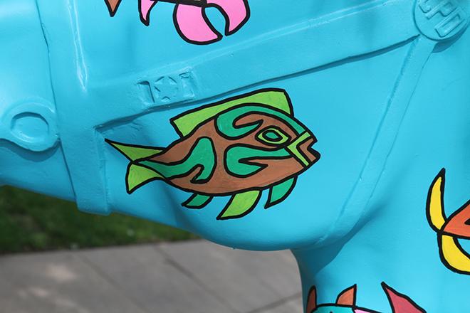 Tony Passero Horses of Honor Sea Horse Fish 6 Detail