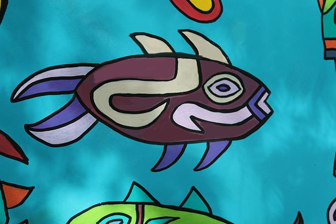 Tony Passero Horses of Honor Sea Horse Fish 7 Detail