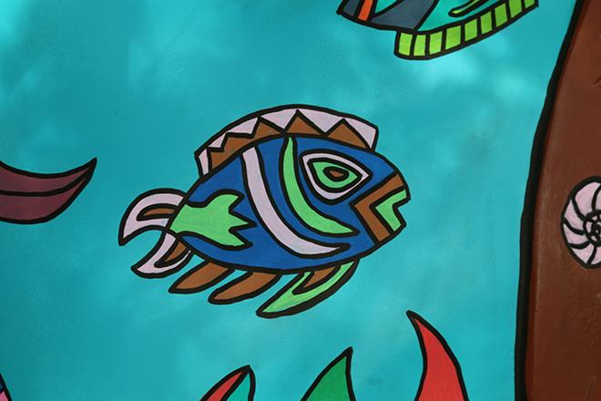 Tony Passero Horses of Honor Sea Horse Fish 9 Detail
