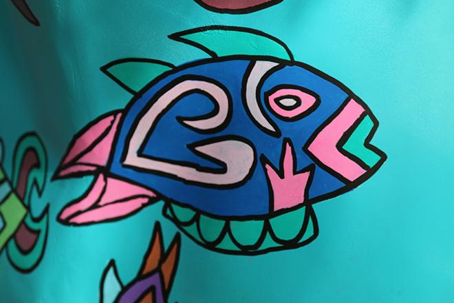 Tony Passero Horses of Honor Sea Horse Fish 10 Detail