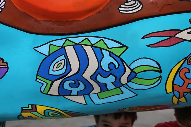 Tony Passero Horses of Honor Sea Horse Fish 11 Detail