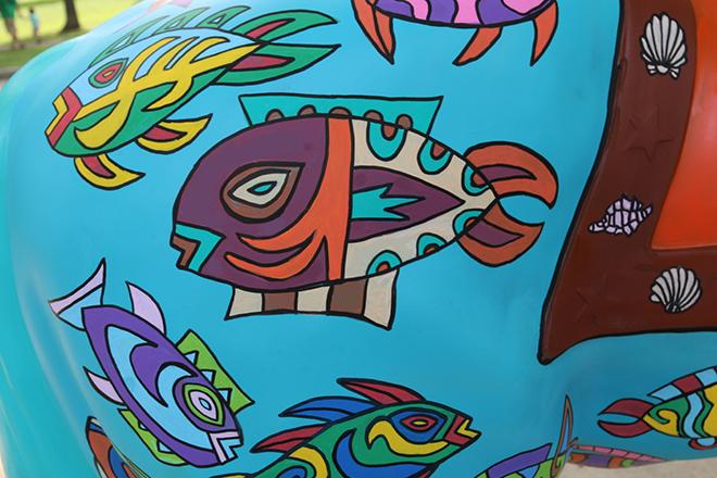 Tony Passero Horses of Honor Sea Horse Fish 13 Detail