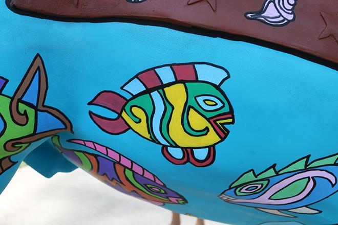 Tony Passero Horses of Honor Sea Horse Fish 14 Detail