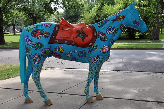 Tony Passero Horses of Honor Sea Horse Right Side
