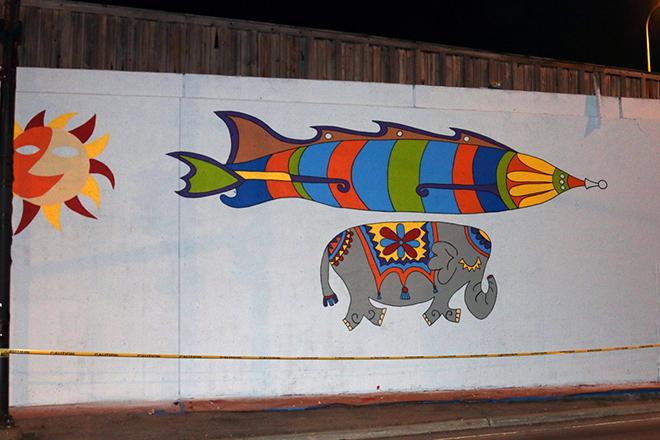 Tony Passero Jumbo Jet Mural End of Day 2