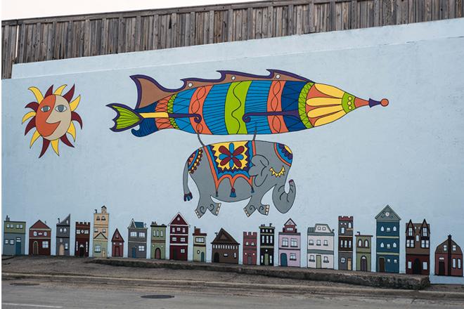 Tony Passero Jumbo Jet Mural Day 5 Master Shot