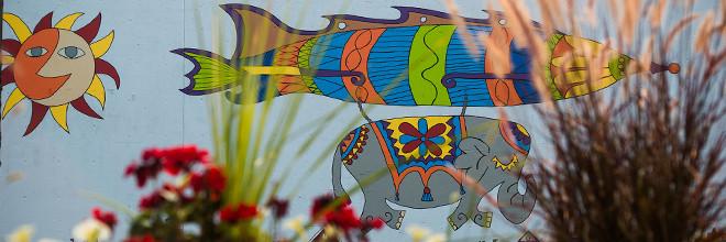Jumbo Jet Mural Day 5