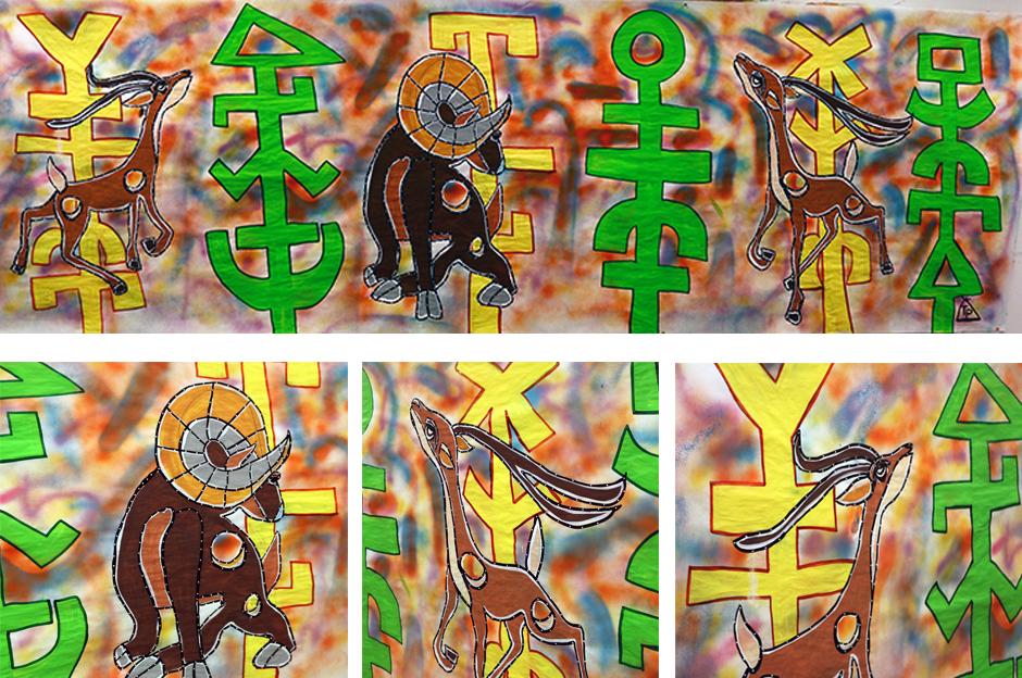 Tony Passero Painting Ramzelle Detail