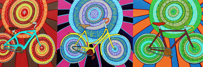 Spin Cycles Mural