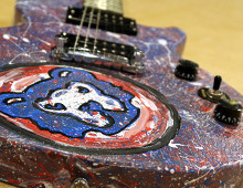 Chicago Cubs Guitar