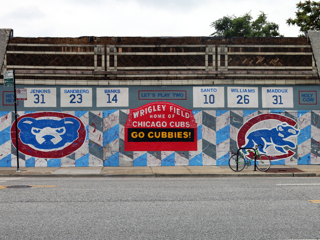 Tony Passero Chicago Cubs Mural Day 4 Masterview