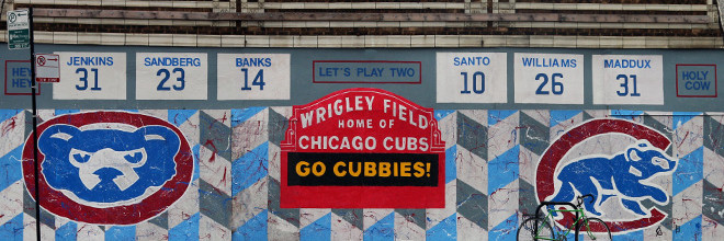 Chicago Cubs Mural Day 4