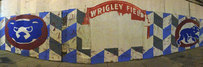 Chicago Cubs Mural Day 2