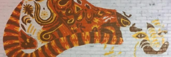 JagLeo Mural Day 2