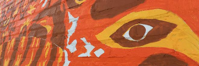 JagLeo Mural Day 3