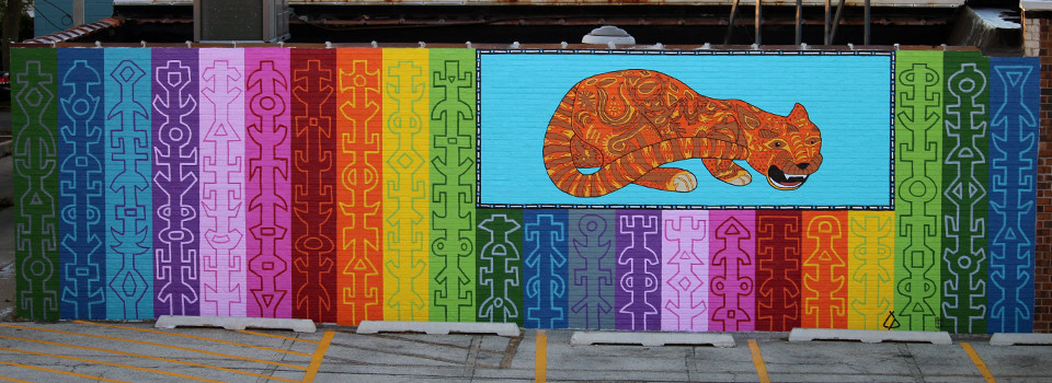 Tony Passero JagLeo Mural Slideshow Detail