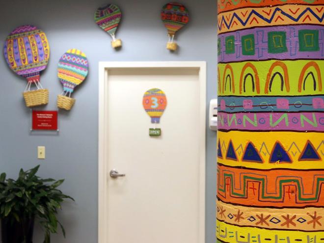 Tony Passero Mural LSSI Foster Care Center Meeting Room 3 Detail