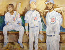 Chicago Cubs Dugout Mural