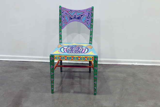 Tony Passero Chicago Have A Seat Chicago Fly Chair Front Detail