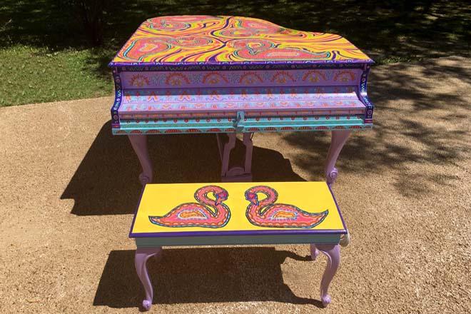 Tony Passero Swan Song Piano Front View