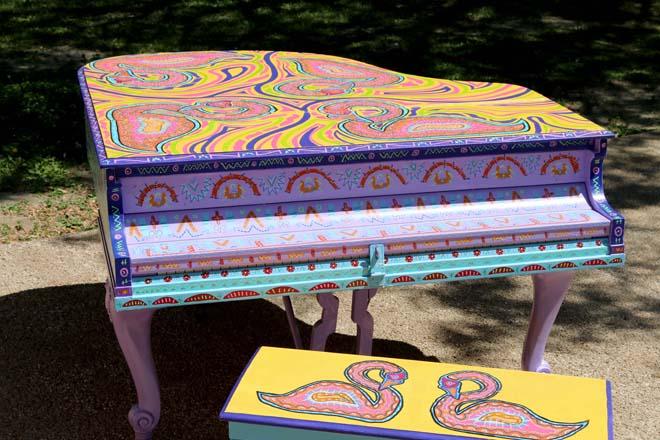 Tony Passero Swan Song Piano Left Top View