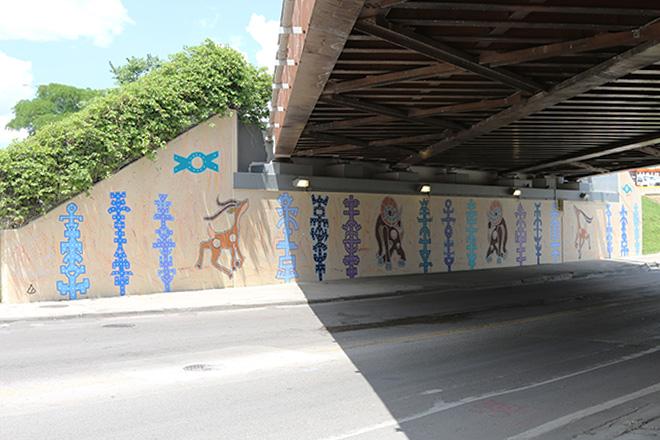 Tony Passero RamZelle Mural Long From Left